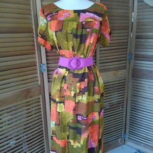 Vintage 70s Handmade Dress